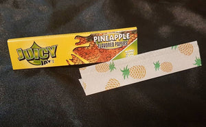 Juicy Jay Rolling Papers - Pineapple Flavor