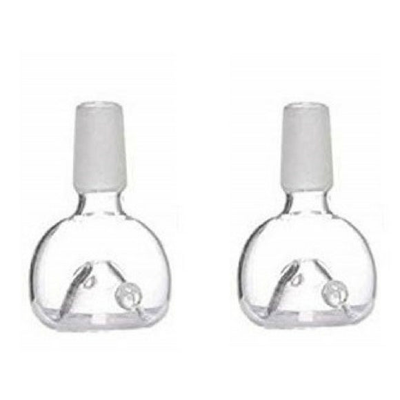 Bongs Glass Bowl Accessory Set of 2pcs For Glass Waterpipe Bong (18.8mm, Bowl) - Outontrip
