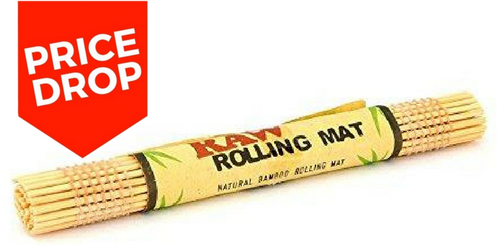 RAW BAMBOO ROLLING MAT TO CRUSH AND ROLL - Outontrip