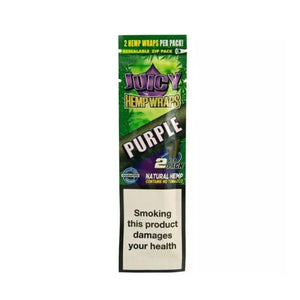 Juicy Hemp Wrap - Purple Flavored Blunt/Cigar Wrap