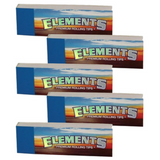 Elements ROLLING PAPER FILTER TIPS/ROACH Pack of 3 or 5 - Outontrip