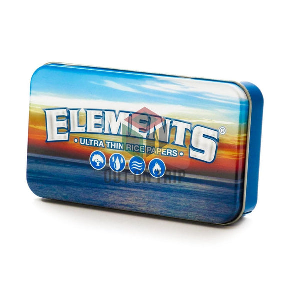ELEMENTS Metal Tin Box - Storage Box