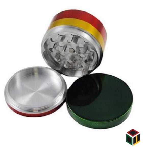 Raasta Metallic Herb Crusher/Grinder with Filter (50 mm)