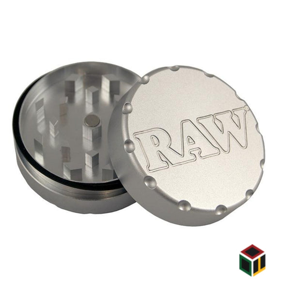 RAW GRINDER 2PC made from aircraft grade Aluminium