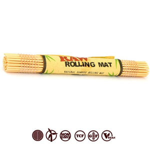 RAW BAMBOO ROLLING MAT TO CRUSH AND ROLL