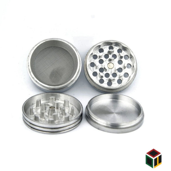 Classic Metallic Herb crusher/Grinder Medium (42 mm)