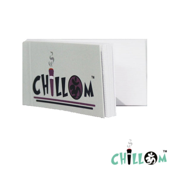 Chillom Plain Filter Tips/Roach Pack of 5 or 10