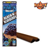 Juicy Jay Blunt Black N Blueberry (Cigar Rolling Paper) 2 Piece/Pack