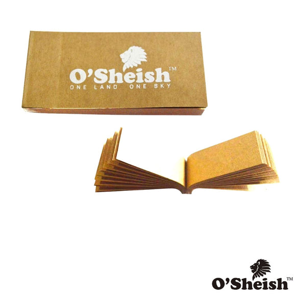 O sheish Rolling paper Filter Tips/Roach Book