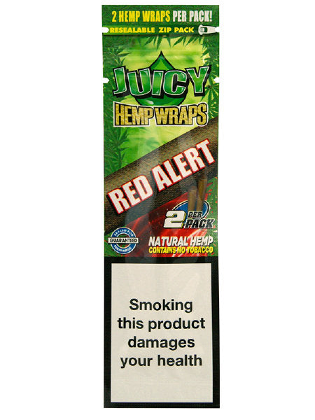 Juicy Hemp Wrap - RED Alert Flavour