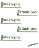 Stash-Pro King Size White 32 leaves Rolling Paper