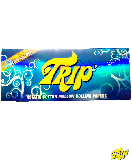 Trip2 Transparent Rolling Paper King Size - 40 Leaves