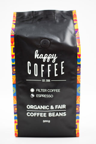 Happy Coffee CHIAPAS Bio Espresso Bohnen