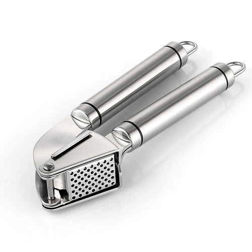 Zanmini Stainless Steel Garlic Press - Stainless Steel