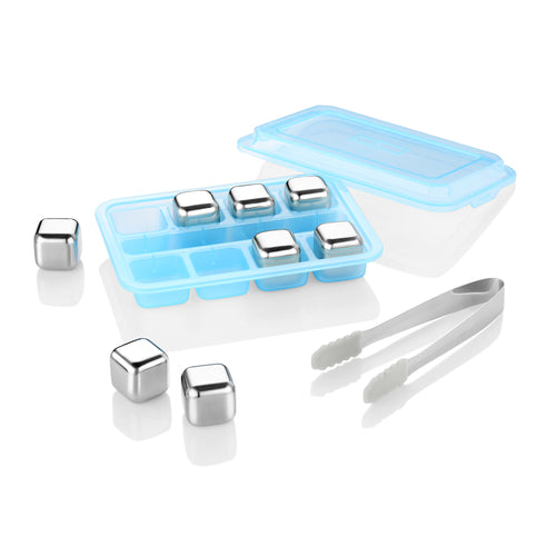 zanmini ZMI08 Stainless Steel Ice Cubes  -  STAINLESS STEEL