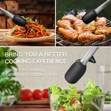 zanmini ZKT2 Non-stick Stainless Steel Food Tong Set