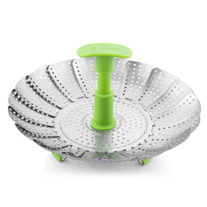 Zanmini ZS3 9/11 inch Stainless Steel Collapsible Food Steamer Basket