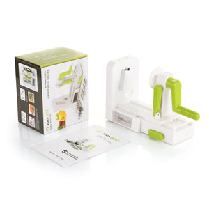zanmini Spiralizer Manual Vegetable Slicer Hand Chopper