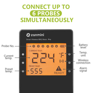 Pro-04 Wireless BBQ Thermometer