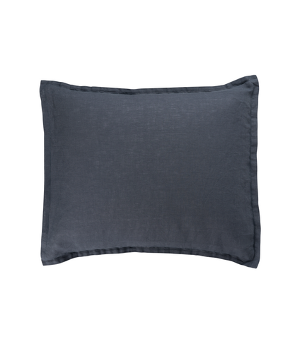 Graphite Blue Örngott - Soft Linen