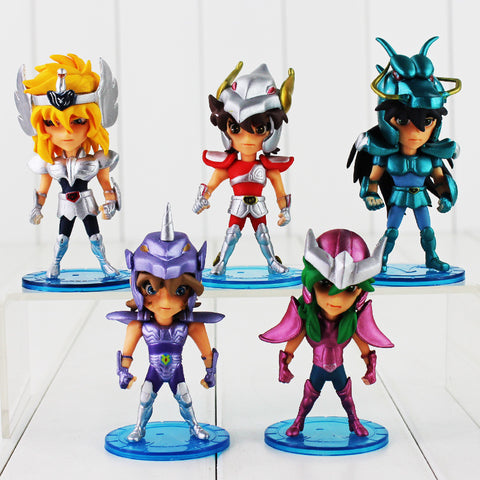 10cm Mini Saint Seiya PVC Action Figures Collection - Loverly's Toys