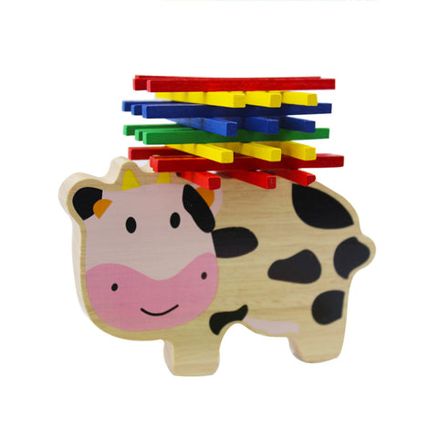 Chanycore's Baby Learning Balancing Cow - Loverly's Toys