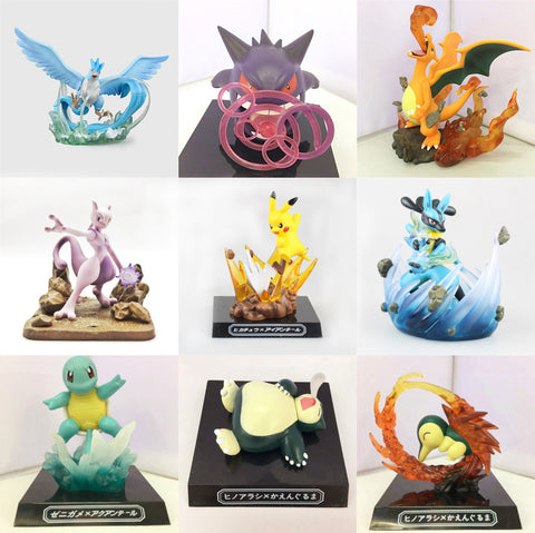 NICE Collection of Pokemon Statues! - Loverly's Toys