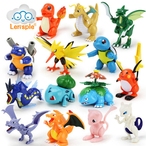 Mini Pokemon Figures - Loverly's Toys