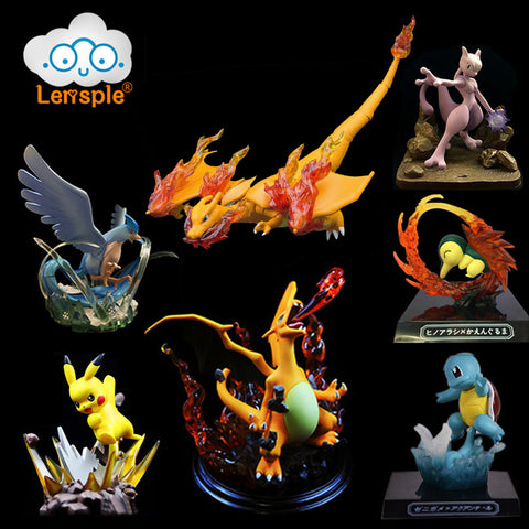 Lensple Pokemon Action Figures Collection - Loverly's Toys