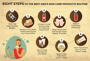 8 Steps To The Best Men's Skincare Routine