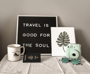 5 ESSENTIALS NEEDED FOR TRAVELLING