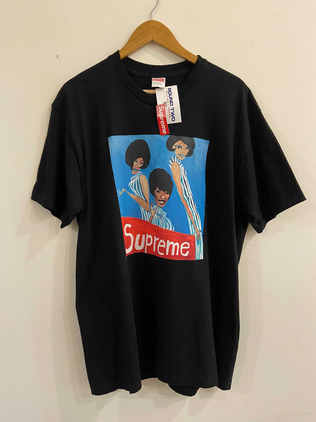 Supreme Group Black Tee