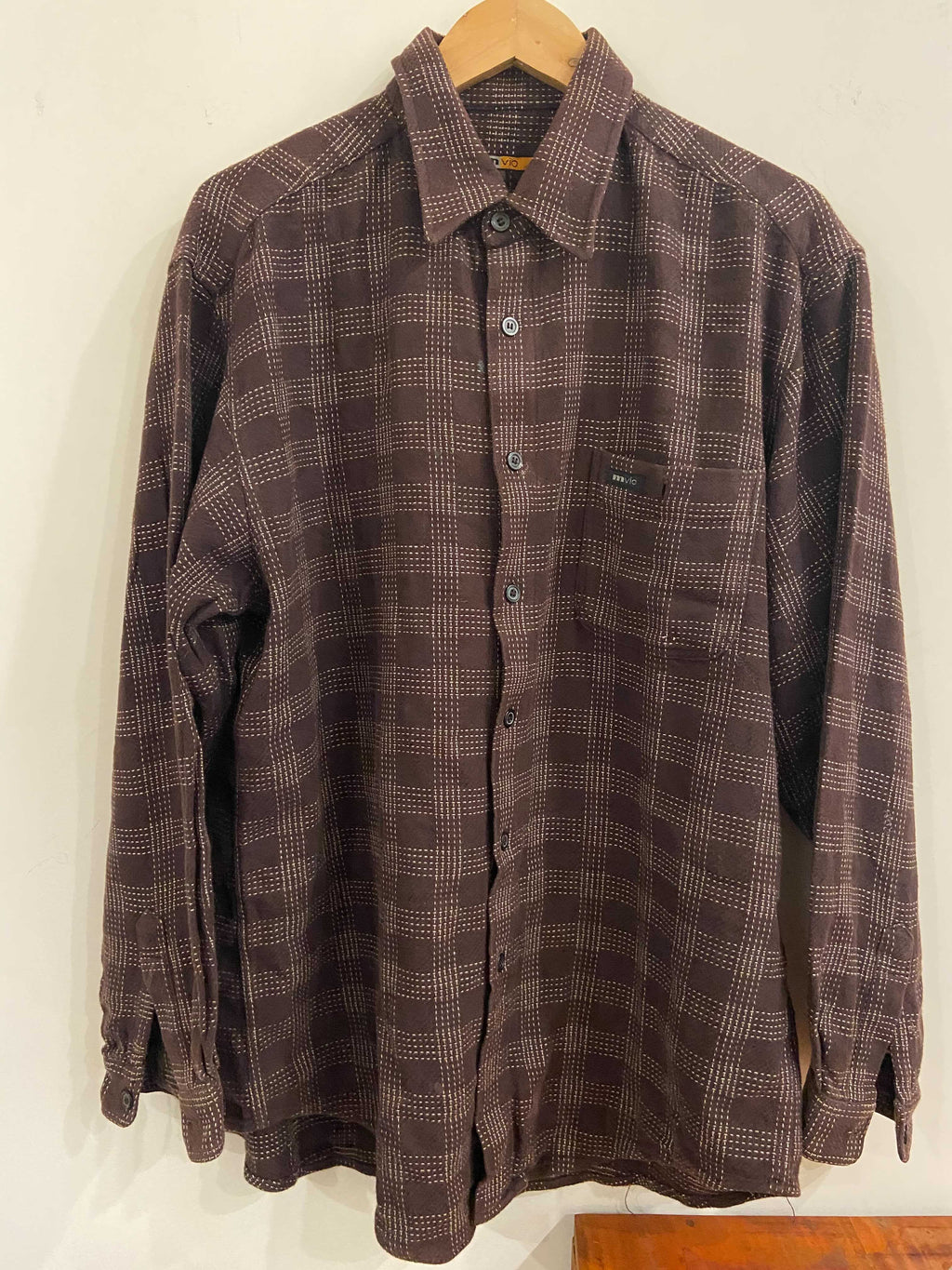 MVIO Brown Flannel Shirt
