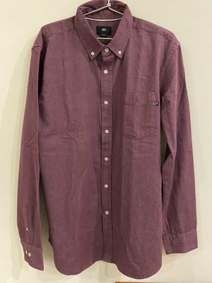 OBEY Wine Color Shirt