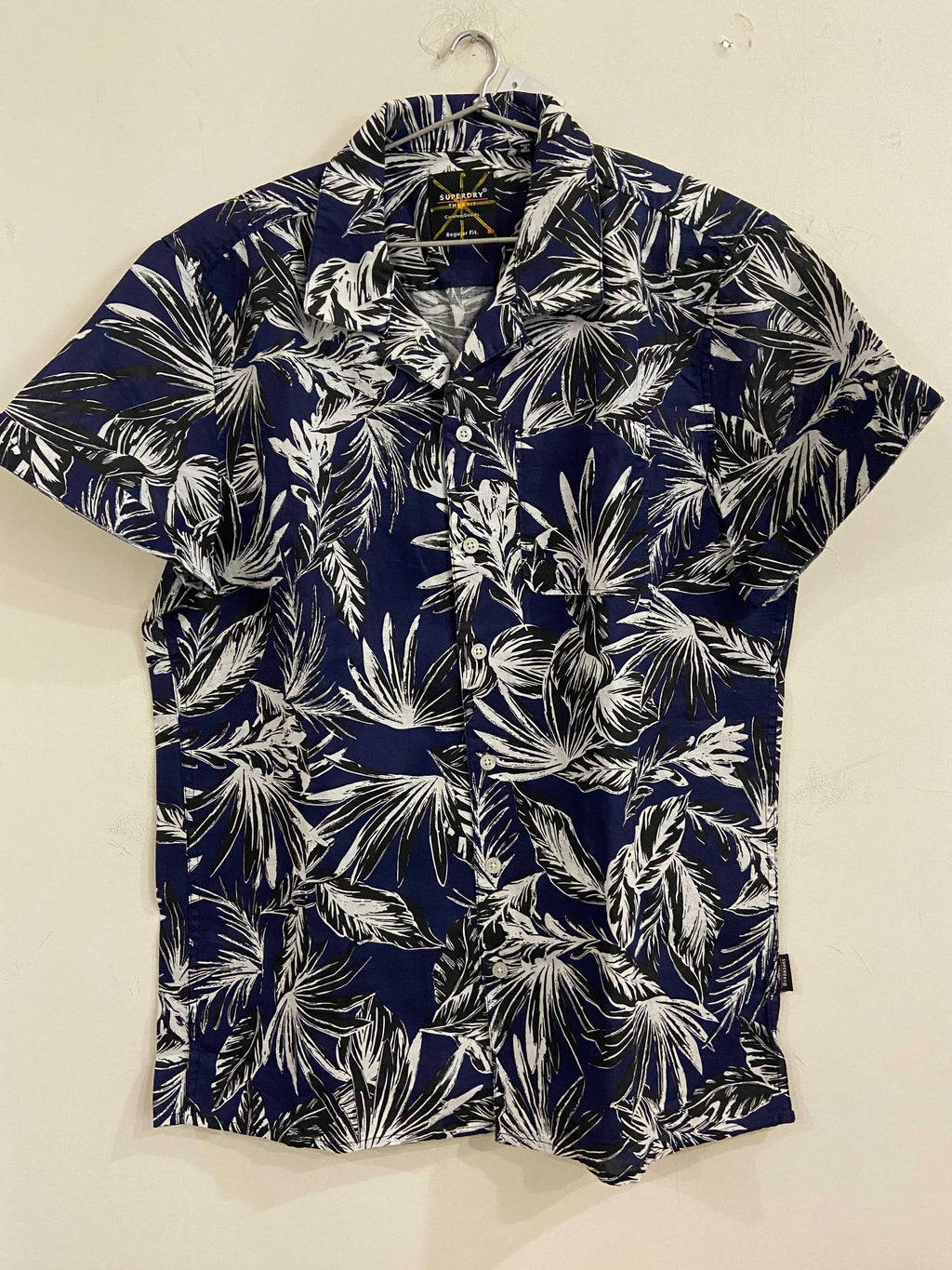 Superdry Navy Floral Shirt