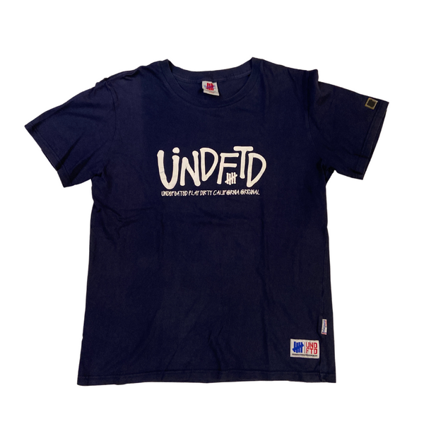 UNDFTD Blue T-shirt