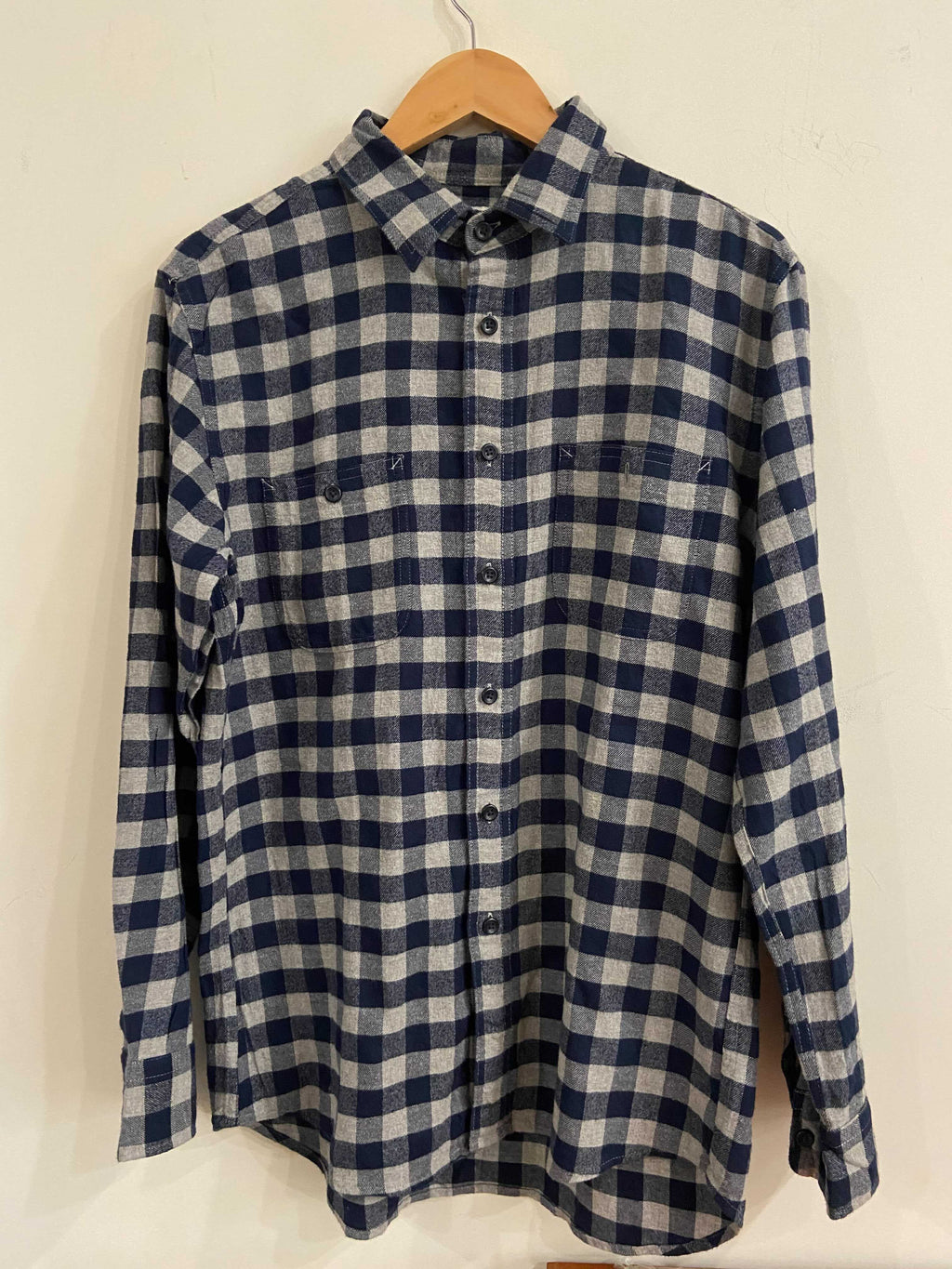 Uniqlo Checkered Flannel Shirt