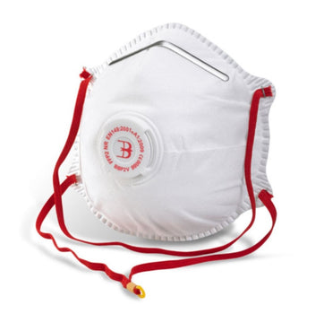 Beeswift FFP2 Moulded - Valved Dust & Mist Disposable Respirator