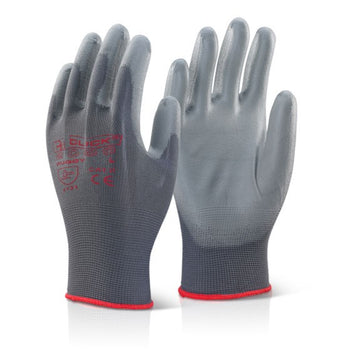 Beeswift Premium PU Palm Coated Gloves - Pair