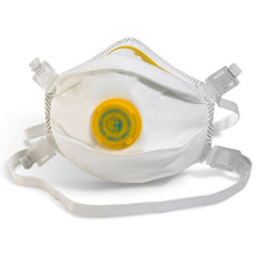 FFP3 Moulded - Valved Dust, Mist & Fume Disposable Respirator