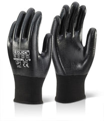 Beeswift Nitrile Fully Coated Polyester Gloves - Pair
