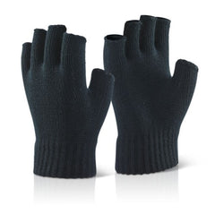 Beeswift Acrylic Knitted Fingerless Work Gloves