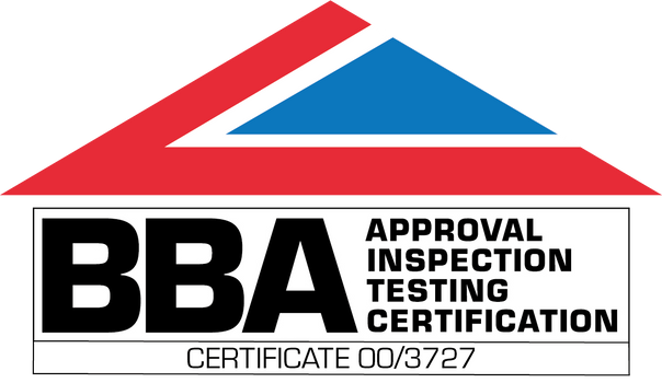 Logo for BBA Certification Certificate No: 00/3727