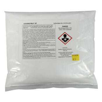 ACS Borotreat 10P Boron Powder - Boron Woodworm & Dry Rot Treatment