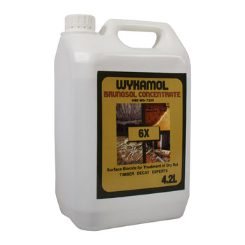 Wykamol Brunosol Concentrate 6X Masonry Dry Rot Treatment