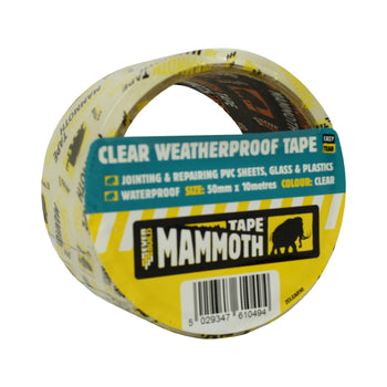 Everbuild Clear Weatherproof Tape