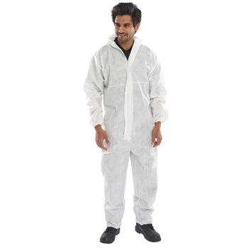 Beeswift COC10 Hooded Disposable Coverall