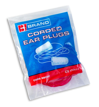 Beeswift Corded PU PPE Ear Plugs - Pair