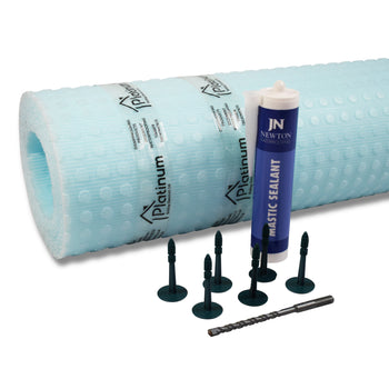 Platinum DM2 ECO-MESH Kit - Damp Proof Membrane Kits (With Sealing Mastic)