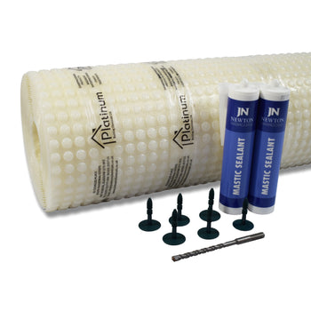 Platinum DM3 PRO-MESH Kit - Damp Proof Membrane Kits (With Sealing Mastic)